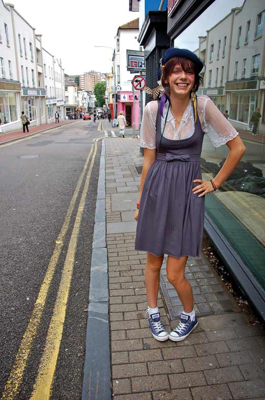 Street Style Freya Rose Brighton Source