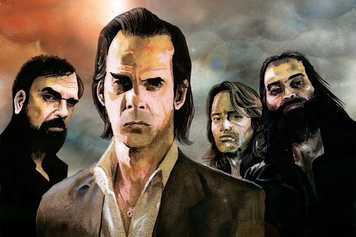 Grinderman By Alex Young