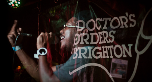 Doctor's Orders reviewed by Oleg Pulemjotov for Brighton SOURCE magazine, Brighton's best music,arts and listings magazine.