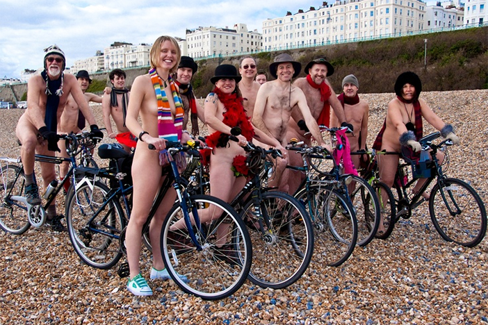 Naked Bike Ride | Brighton Source