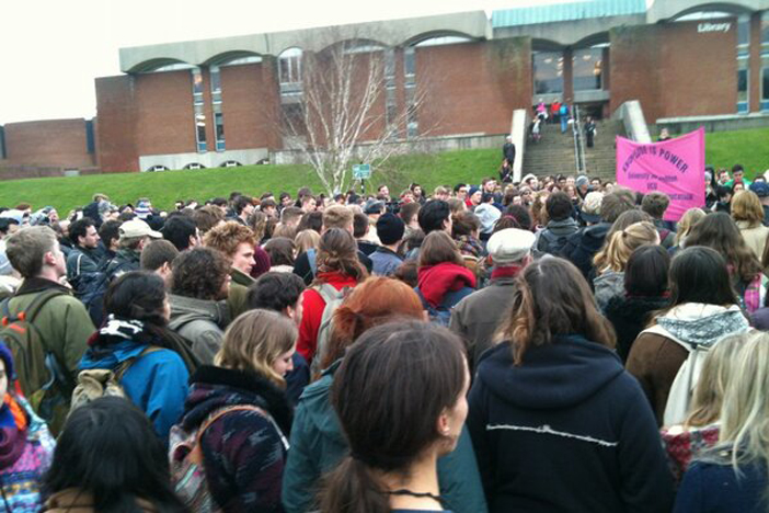 Sussex Univeristy Student Occupation Demo