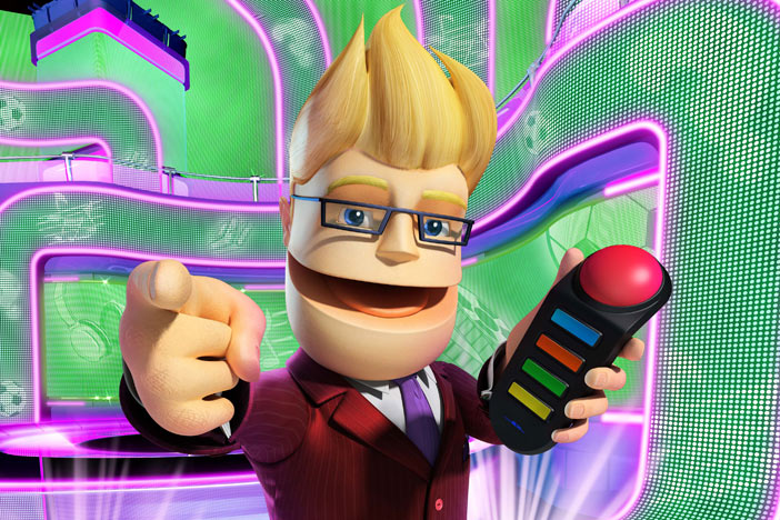 Buzz, one of the best Brighton produced videogames, in Brighton SOURCE