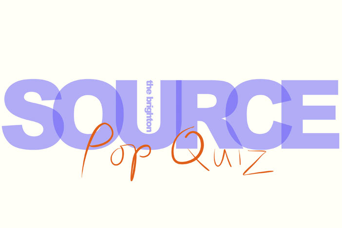 Brighton SOURCE pop quiz at The Hope