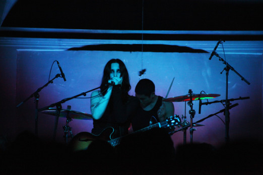 Chelsea Wolfe @ The Old Market (Photo: Gili Dailes)