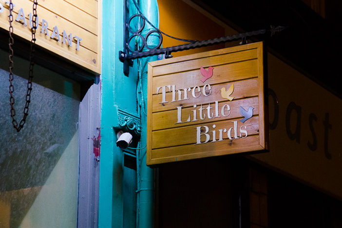 Three Little Birds | Brighton Source | Mike Tudor