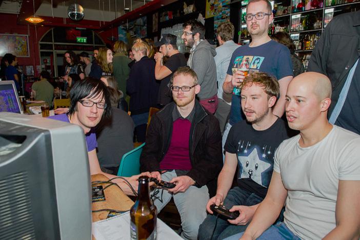 Gaming Retrobution   Sticky Mikes   Brighton Source   Mike Tudor
