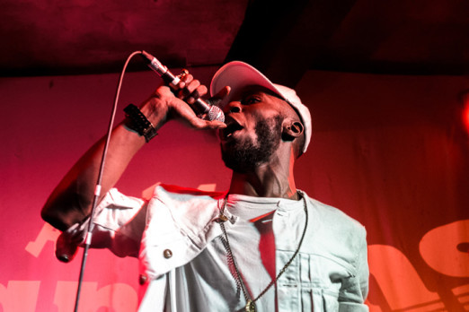 Kojey Radical, Green Door Store, photo by Mike Tudor