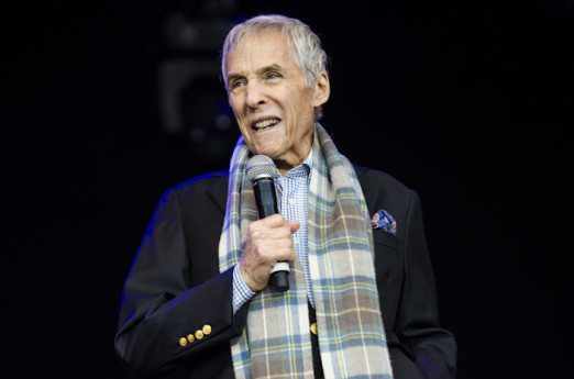 Glynde, East Sussex, 3rd July 2016. Burt Bacharach performing live, headlines the main open air stage as the fourth Love Supreme Jazz Festival at Glynde Place draws to an end.