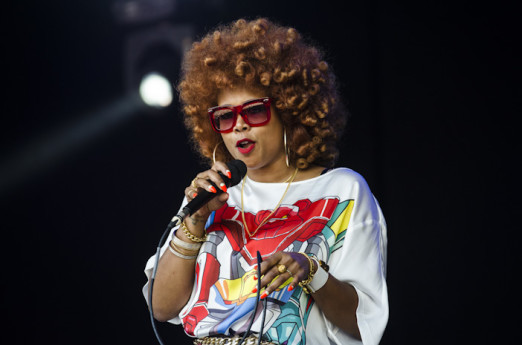 Glynde, East Sussex, 3rd July 2016. Kelis performing live on the main open air stage on the final day of Love Supreme Jazz Festival at Glynde Place.