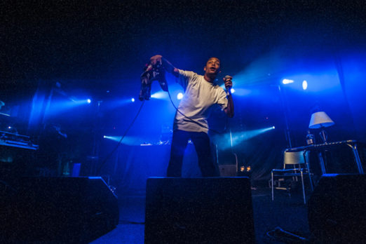 Loyle Carner performing live at Concorde 2, Brighton East Sussex, 6 October 2016