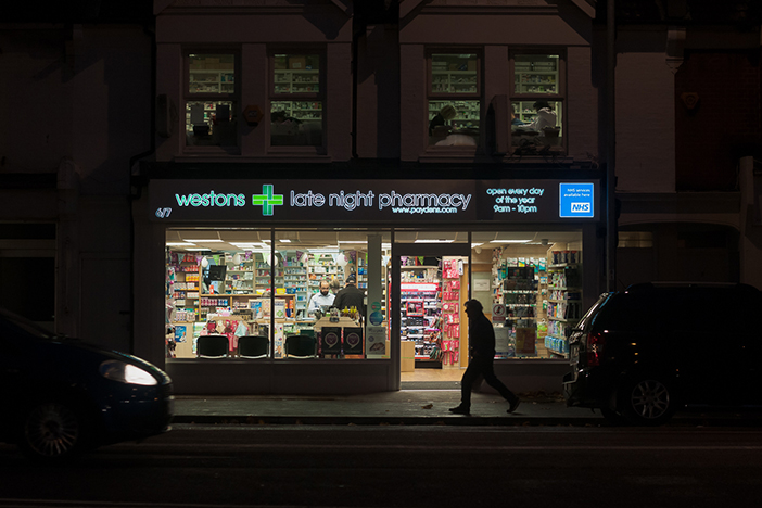 Westons Late Night Pharmacy, 6-7 Lewes Rd