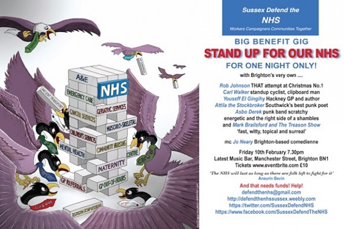 Stand Up For Our NHS | Brighton Source