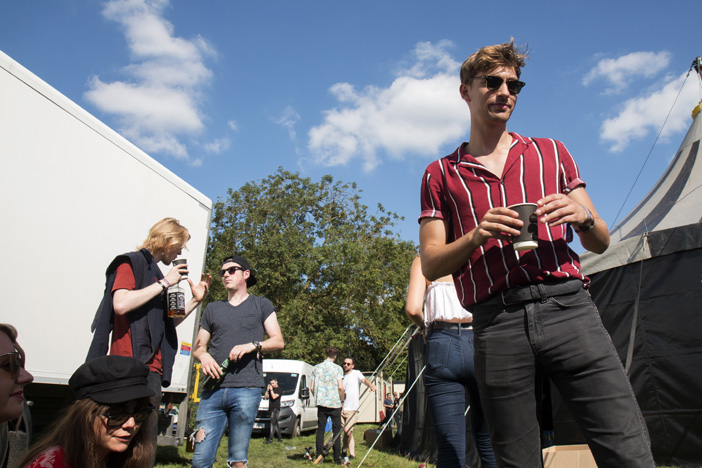 Backstage Jack Rocks This Feeling - Reading Festival 2017 - Brighton Source - Ashley Laurence - Time for Heroes Photography
