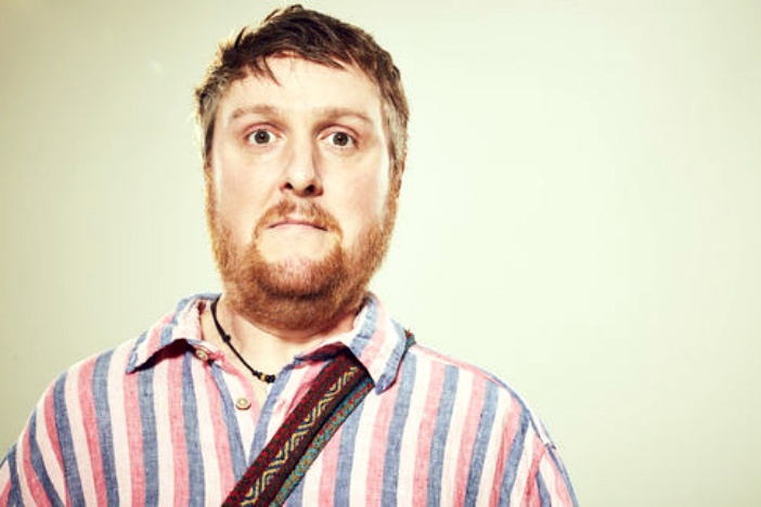 A photo of Tim Key who performed at Brighton Dome with Daniel Kitson