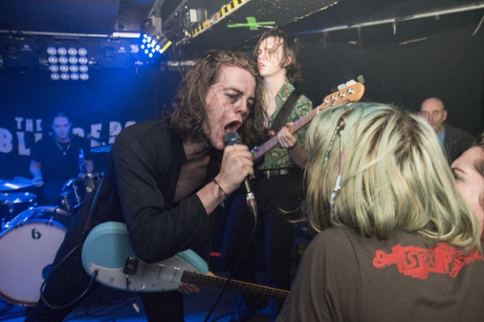 The Blinders - Sticky Mikes - Brighton Source - Time for Heroes Photography - Ashley Laurence