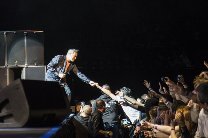 Morrissey - Centre - Brighton Source - Ashley Laurence - Time for Heroes Photography