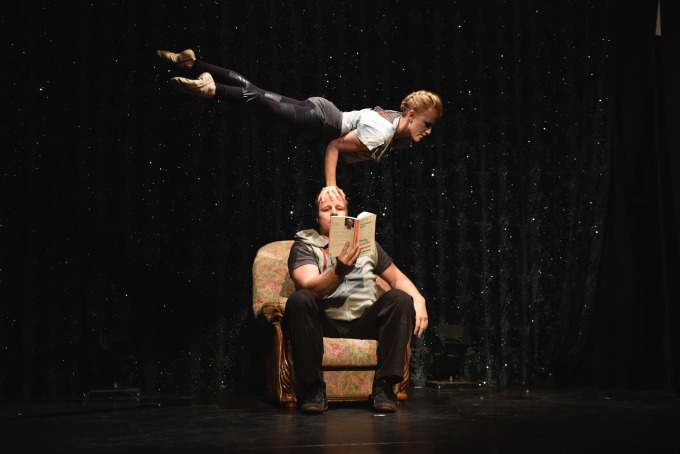 Katerina Repponen and Pasi Nousiainen's Suhde and Sound Barrier, from Finland, at Brighton Fringe 2018