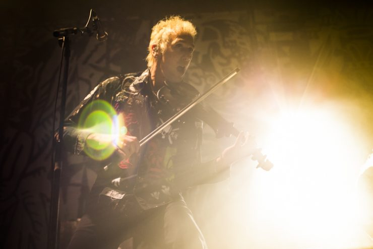 The Levellers at The Dome, Brighton - photo by Gili Dailes