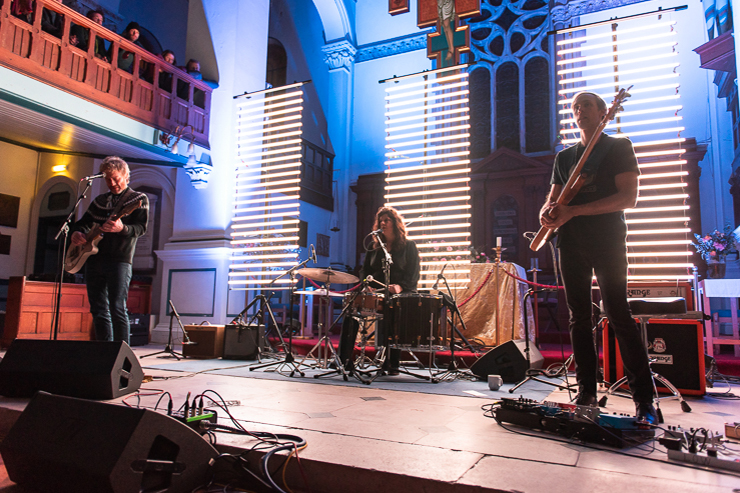 Low performing at St. George's Church, Brighton, on Thursday 31st January 2019