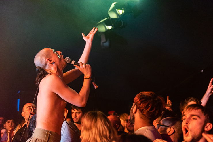 Fat White Family, The Deep End (photo by Mike Tudor)