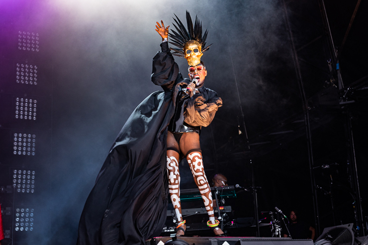 Grace Jones_Brighton Pride 2019