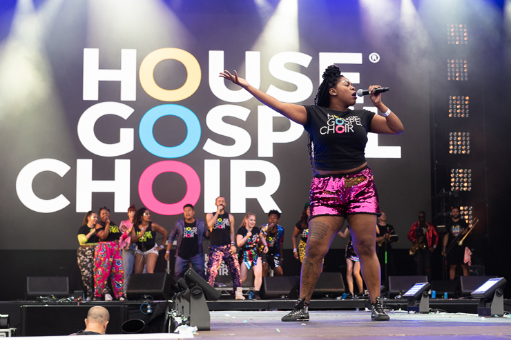 House Gospel Choir_Brighton Pride 2019