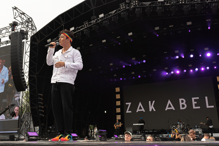 Zak Abel_Brighton Pride 2019