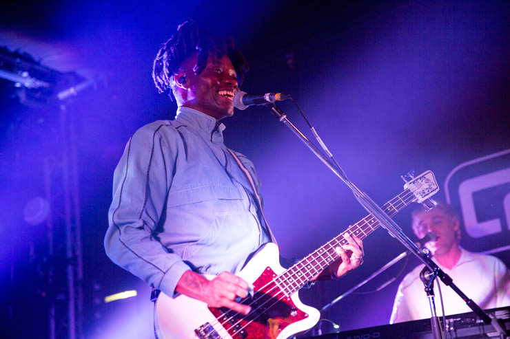 Metronomy at Concorde 2 . Shot for Brighton Source by Ashley Laurence, @ Time for Heroes Photography