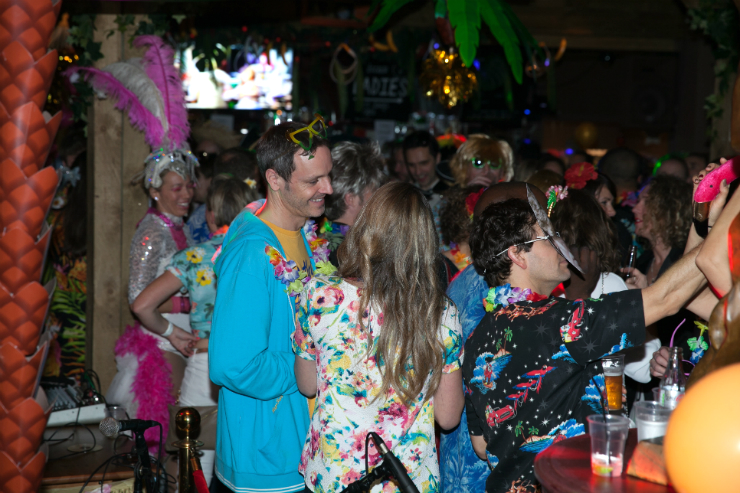 A photo of people enjoying themselves at Funk the Format Club Tropicana with DJ Format, as previewed in Brighton Source
