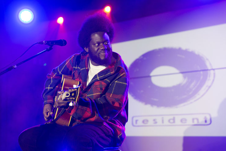 Michael Kiwanuka - Chalk - Resident Records - Brighton Source - Time for Heroes Photography - Ashley Laurence