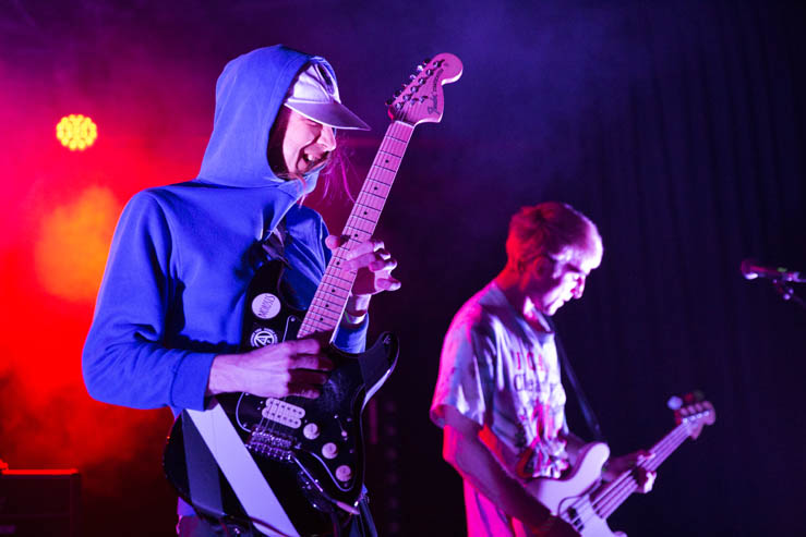 Diiv playing Chalk, Brighton Source, Photos by Ashley Laurence Time for Heroes Photography