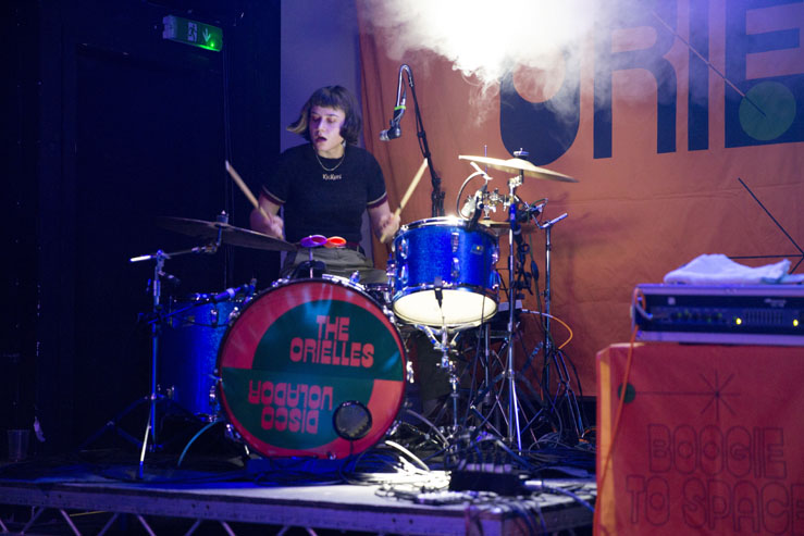 The Orielles playing Chalk, Brighton Source gig review. Shot by Ashley Laurence (time for Heroes Photography)