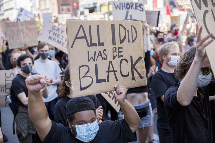 Black Lives Matter BLM Protest Brighton Source Time for Heroes Photography Ashley Laurence