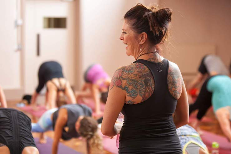yoga workshop class